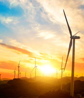 auditoría energética parque eólico foto